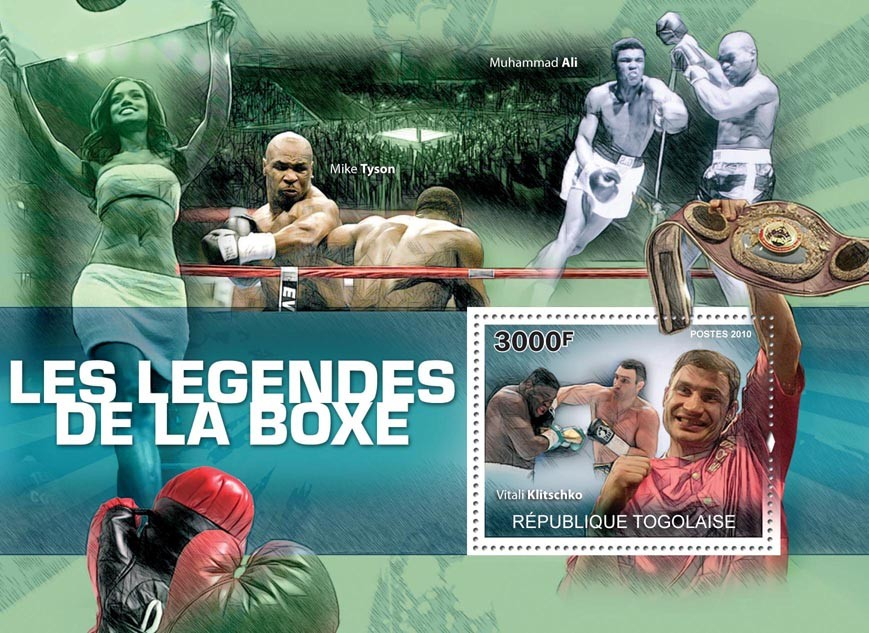 Boxing Legends, (Vitaly Klitschko). - Issue of Togo postage stamps