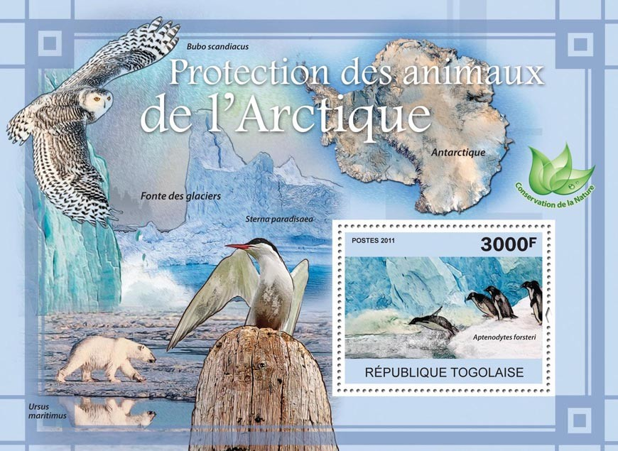 Protection of Animals in Arctic. - Issue of Togo postage stamps