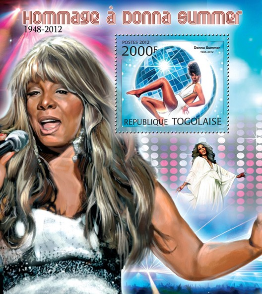 Donna Summer (1948-2012) - Issue of Togo postage stamps