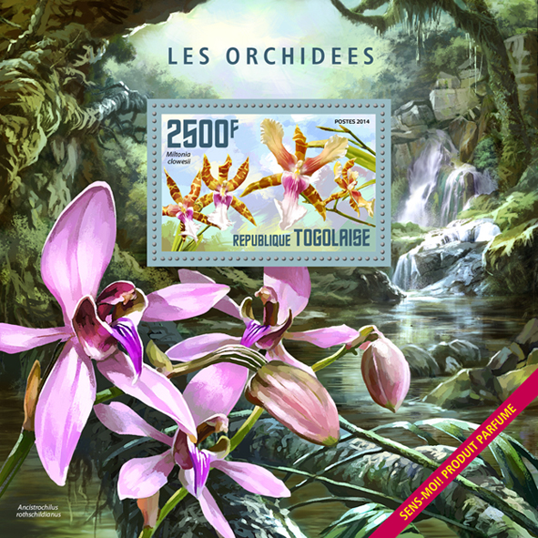 Orchids - Perfumed - Issue of Togo postage stamps
