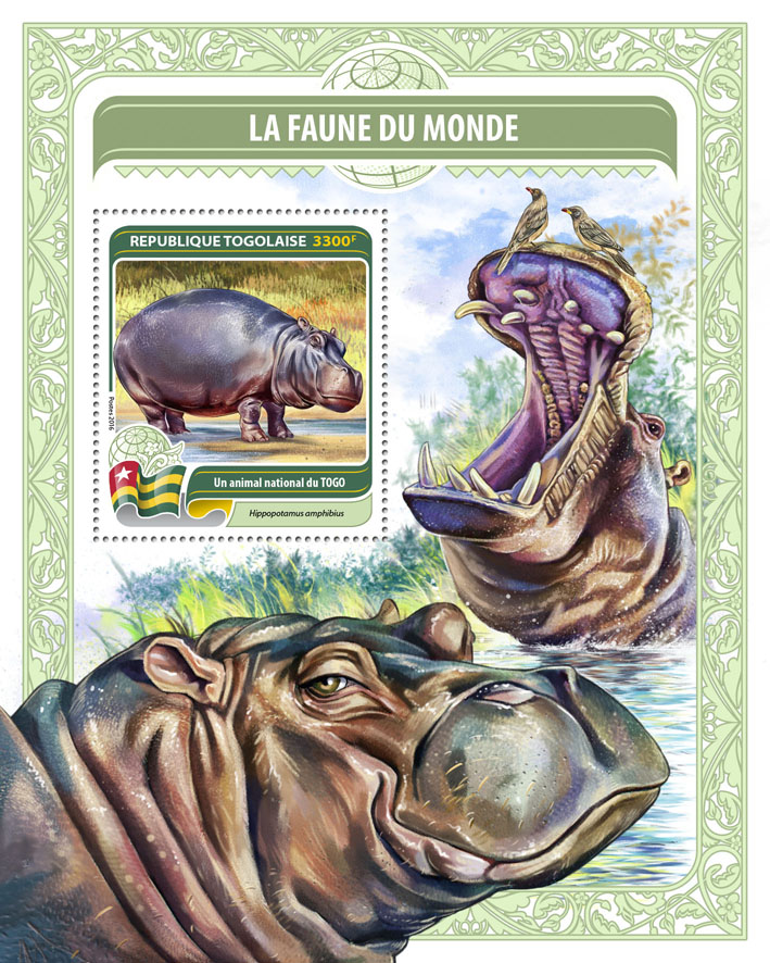 National animal of Togo - Issue of Togo postage stamps