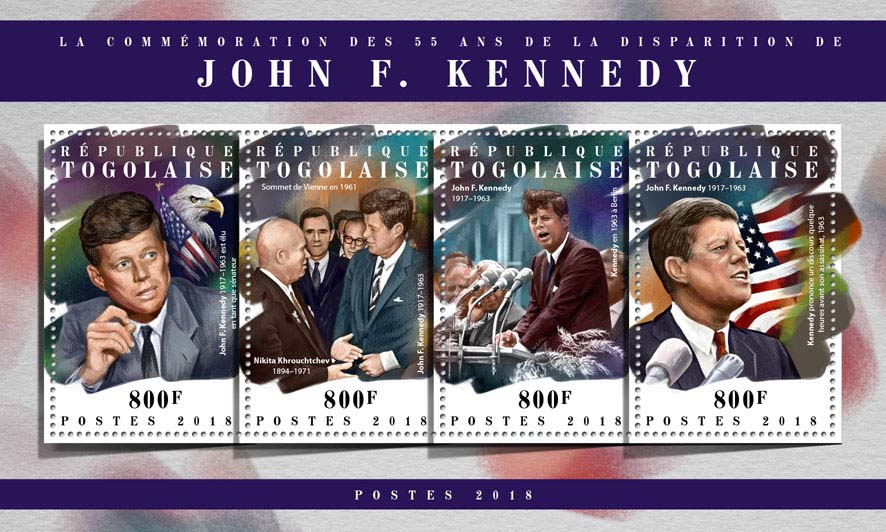 John F. Kennedy - Issue of Togo postage stamps