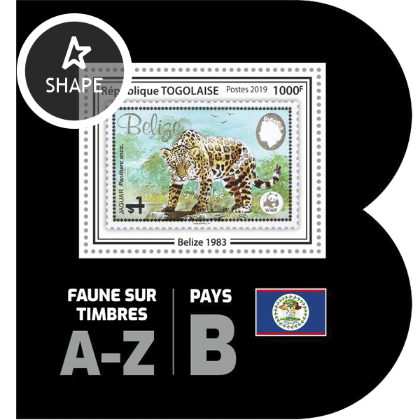 Stamps on stamps SS 01 - Issue of Togo postage stamps