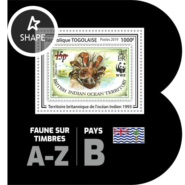 Stamps on stamps SS 15 - Issue of Togo postage stamps