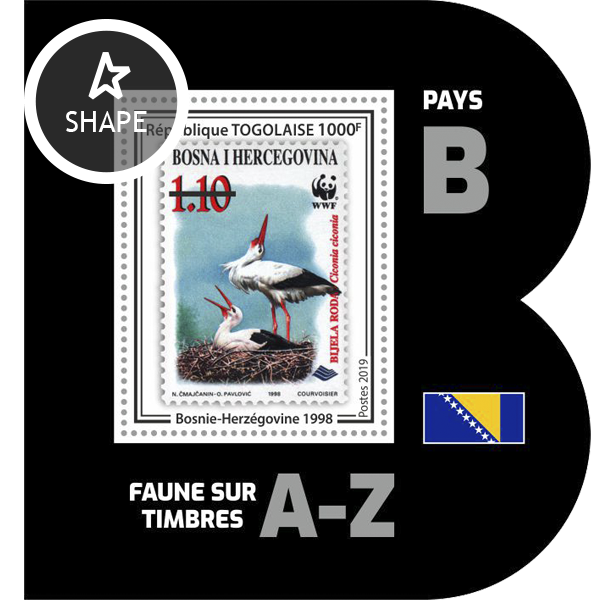 Stamps on stamps SS 19 - Issue of Togo postage stamps