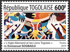 Emmanuel Sogbadji - Issue of Togo postage stamps
