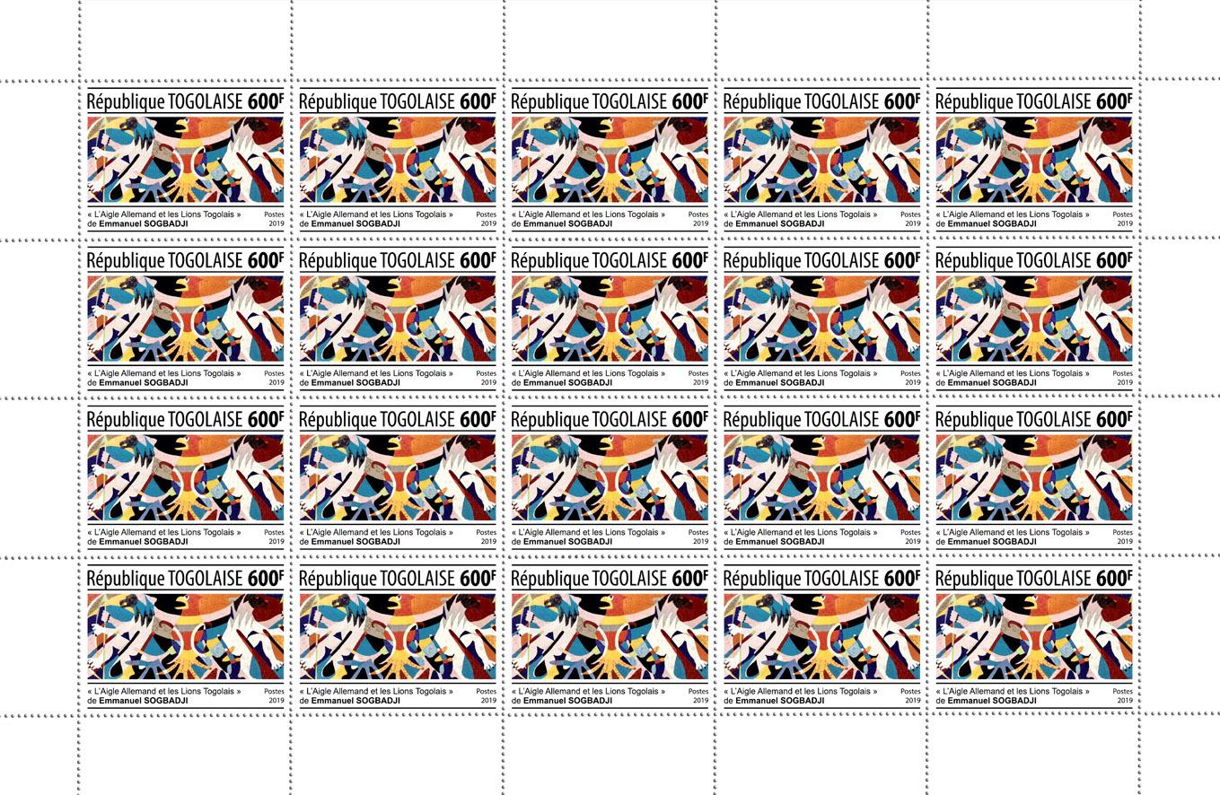 Emmanuel Sogbadji – 20v - Issue of Togo postage stamps