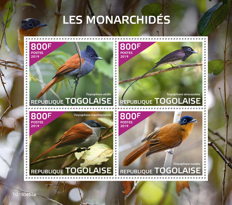 Monarchs - Issue of Togo postage stamps