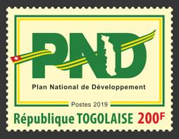PND 1v - Issue of Togo postage stamps