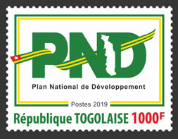 PND 1v - Issue of Togo postage stamps